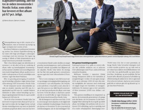 Nordic Solar's bestyrelsesformand og direktør fra Atrium deler deres vigtige pointer med os